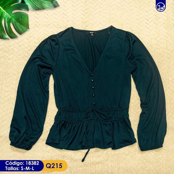 Blusa Blash Verde Oscuro