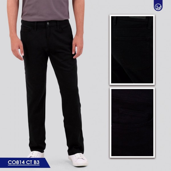 Pantalón Pepe Slim Fit VI814 B3 Negro