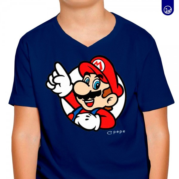 Graphic Tees Kids Súper Mario