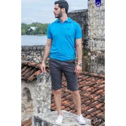 Polo Premium Napoleón Caribbean blue