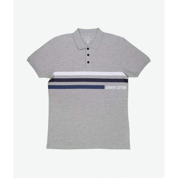 Polo Premium Johnny Cotton Gris