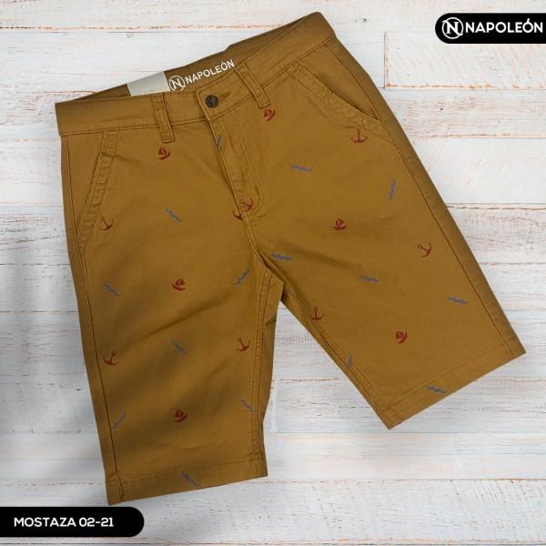 Pantaloneta  Napoleón Mostaza/Diseños