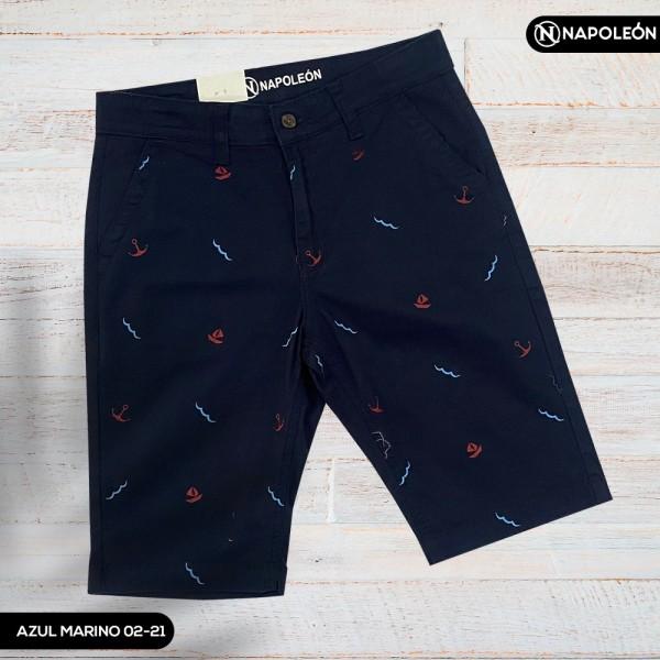Pantaloneta Napoleón Azul Marino/Diseños