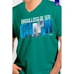 Playera Chapinada Orgulloso de ser Chapin