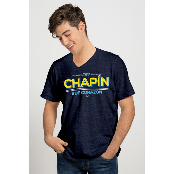 Playera Chapina Soy Chapin de Corazón