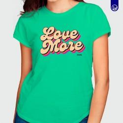 Blusa Gráfica Love More