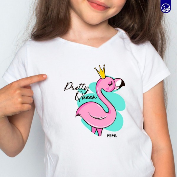 GRAPHIC TEES KIDS PRETTY QUEEN