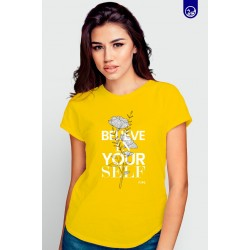 Blusa Gráfica Believe In Your Self