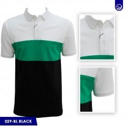 Polo Premium Carven Black/Gren/White