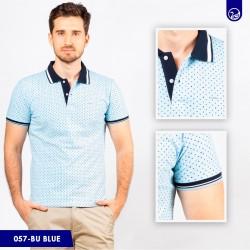 Polo Premium Carven Blue/Navy/White