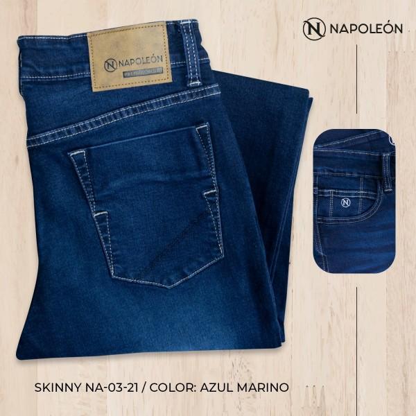 Pantalón Napoleón Skinny Azul Marino