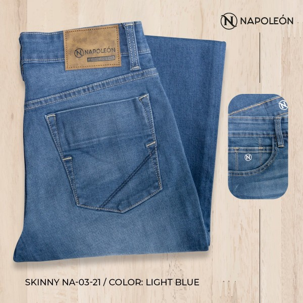 Pantalón Napoleón Skinny Light Blue