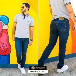 Pantalón Napoleón Skinny Azul