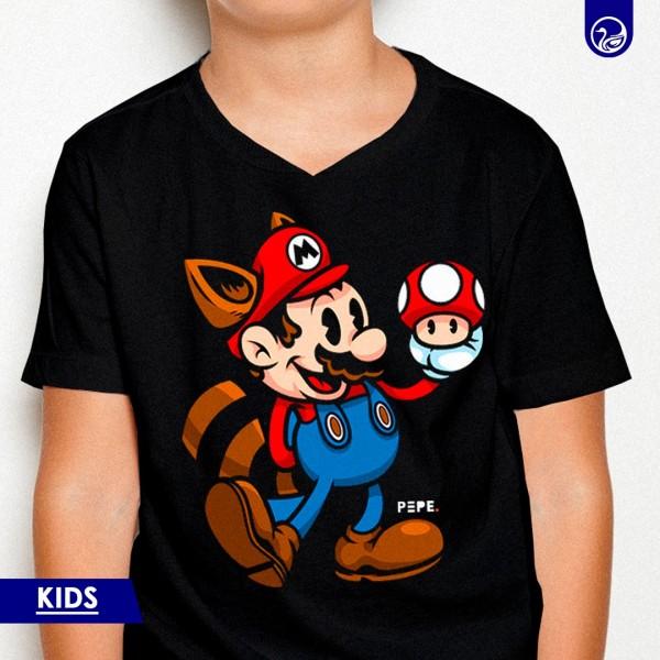 Graphic Tees Kids Mario Broos